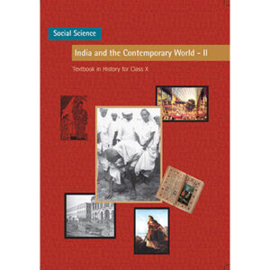 NCERT Books for Class 10 India and Contemporary World
